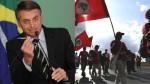 """Bolsonaro entrega ferrovia e dispara contra o MST: """"acabei com dinheiro de ONG para eles"""""""