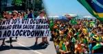 AO VIVO: Manifestações avançam por todo o país / Pazuello pede para sair (veja o vídeo)