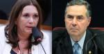 """Bia Kicis peita Barroso na questão do voto impresso auditável: """"É um desrespeito ao Parlamento"""" (veja o vídeo)"""