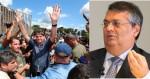 """Por """"pura inveja"""", comunista Flávio Dino aplica multa em Bolsonaro"""