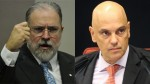 Moraes ignora Aras e presidente do STF é chamado a intervir