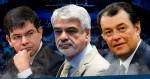 Corrupção e polêmica marcam o passado dos senadores Humberto Costa, Eduardo Braga e Randolfe Rodrigues (veja o vídeo)
