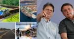 Bolsonaro enumera avanços no setor de infraestrutura e mostra resultados que fazem a esquerda pirar