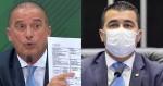 """Desmascarado, Deputado Luís Miranda """"perde a cabeça"""", se vitimiza e pede à CPI prisão para Onyx"""
