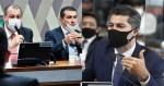 """Desmoralizado - Em denúncia sem provas, Luis Miranda é humilhado por Marcos Rogério e """"traído"""" por Omar Aziz (veja o vídeo)"""