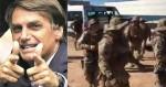 """Site lulopetista, que adora bandidos, acusa Bolsonaro de """"linguagem de milicianos"""" ao citar morte de Lázaro"""