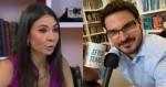 "Amanda Klein deixa programa e Constantino comemora: ""Esquerdista disfarçado de jornalista, com narrativas fajutas"""