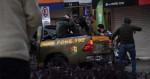 Assaltantes invadem joalheria, Polícia age de forma eficaz, cancela CPFs e é ovacionada pelo povo (veja o vídeo)