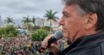 Em discurso histórico, milhares param para ouvir Bolsonaro em SC (veja o vídeo)