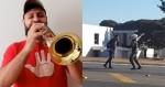 """""""TromPETISTA"""" surta, se mete na frente de tanques militares e é preso (veja o vídeo)"""