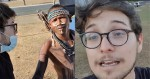 Jornalista se infiltra em manifestação indígena e faz descoberta surpreendente (veja o vídeo)