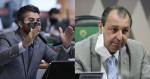"""Marcos Rogério chama Omar Aziz de """"covarde"""" e CPI pega fogo (veja o vídeo)"""