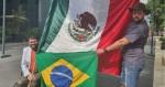 Zé Trovão e Oswaldo Eustáquio estão juntos no México (veja o vídeo)