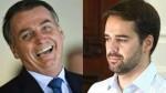 """Bolsonaro perde o amigo, mas não perde a piada: """"Esse salame é do governador"""" (veja o vídeo)"""