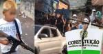 """A """"Constituição"""" que vigora nas favelas: Um surpreendente relato sobre a """"Justiça Social do Narcoterrorismo"""" (veja o vídeo)"""