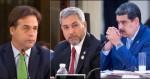 Cara a cara com Maduro, presidentes do Paraguai e Uruguai o confrontam e mostram forte indignação (veja o vídeo)