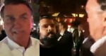 """Bolsonaro mostra 'protesto' contra ele em NY e tira onda: """"Tem mais  jornalista do que manifestante"""" (veja o vídeo)"""