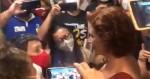 URGENTE: Zambelli é cercada por servidores com camisas de sindicatos na Câmara (veja o vídeo)