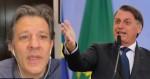 Haddad reconhece chance de reeleição de Bolsonaro e põe a esquerdalha em pânico (veja o vídeo)