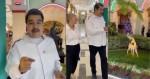 Maduro ignora miséria que atinge o povo e, no suntuoso palácio de Miraflores, 'antecipa' o seu natal na Venezuela (veja o vídeo)