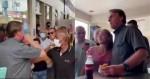 Visita surpresa de Bolsonaro paralisa a pequena Tapira, no interior de MG (veja o vídeo)