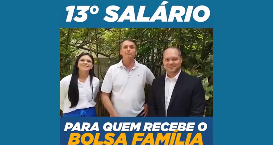 Resultado de imagem para imagem do presidente bolsonaro com o bolsa família