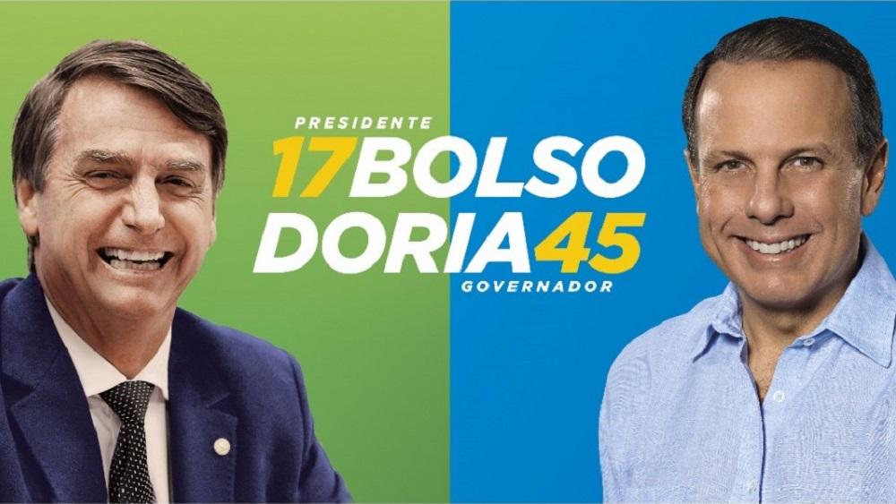 Resultado de imagem para Dória Bolsonaro