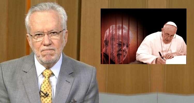 Resultado de imagem para Alexandre Garcia fala sobre a carta do Papa para Lula