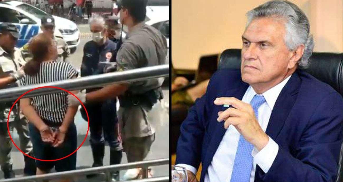 Ditadura? Mulher critica a quarentena em Goiás e é presa e ...