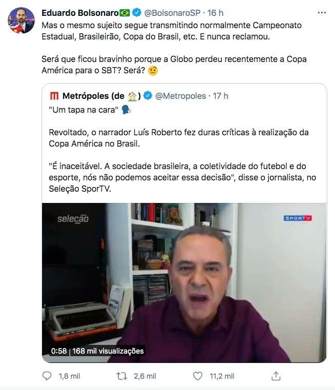 """Rota 2014 - Blog do José Tomaz: O ódio """"hipócrita"""" de Luís Roberto, da  GloboLixo (vídeo)"""
