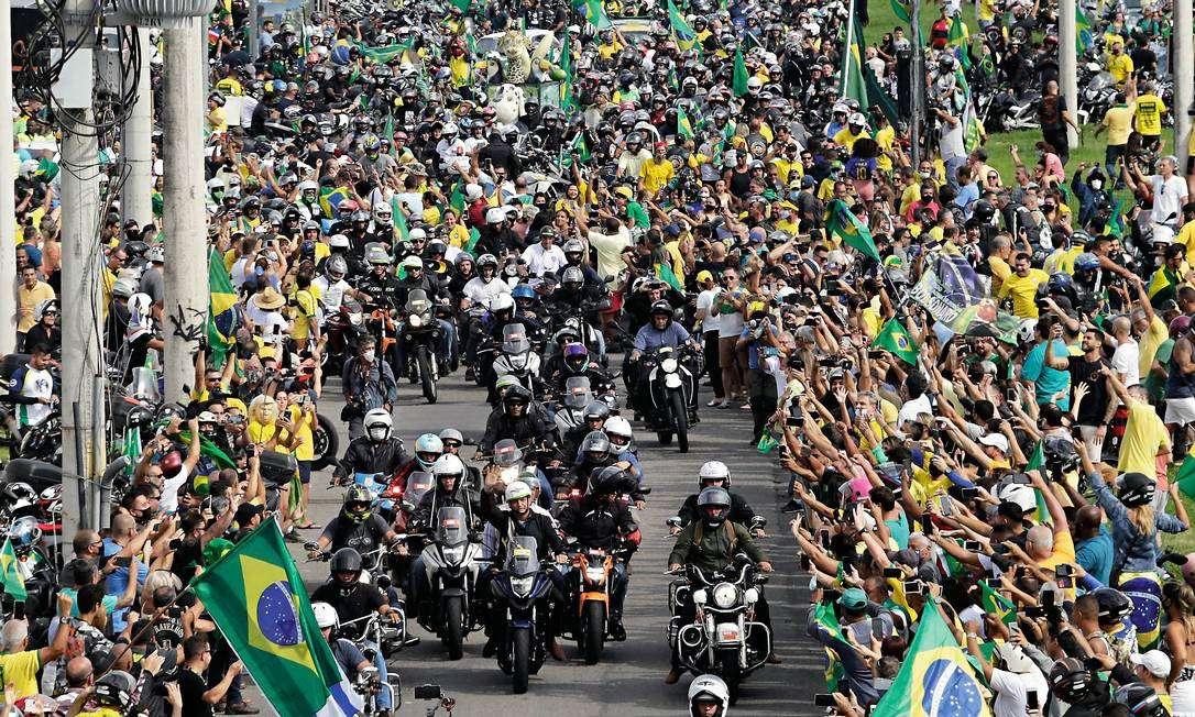 Deputado gaúcho anuncia nova motociata em apoio a Bolsonaro, desta vez em Porto  Alegre (veja o vídeo)