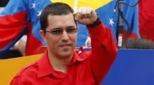 """Vice venezuelano faz """"piada"""" com senadores brasileiros"""