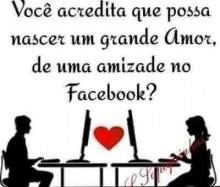 O amor está nas redes, acredite !!!