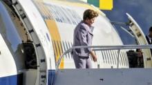 Dilma, sem dinheiro para voar...