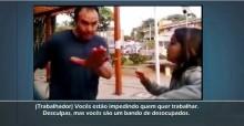 Na Unicamp, trabalhador, impedido de trabalhar, dá lição em estudantes (veja o vídeo)