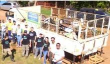 Ação Socioambiental surpreende e recolhe 5 toneladas de resíduos sólidos de córrego em Bonito (MS)