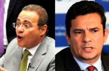 Ato contra lei que brinda Renan tem presença confirmada de Sérgio Moro