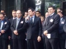 Manifestação memorável em Curitiba, marca a luta da sociedade contra Renan, o algoz da Lava Jato