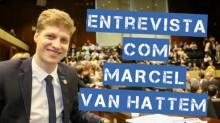 """Marcel van Hattem sobre Manuela D'avila: """"Mexeu com os brios de todos os gaúchos. Mostra não ter bom senso"""""""