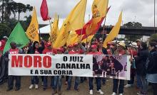 Marcha do MST, CUT e PT em Curitiba registra furtos, saques e agressões (veja o vídeo)
