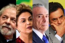 Advogados de Lula, Dilma,Temer e Aécio articulam no WhatsApp complô contra a Lava Jato