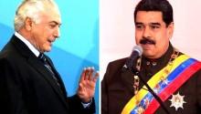 Temer e Maduro, unanimidades que até a urna eletrônica rejeita