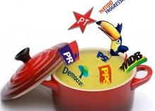 Velhos partidos, repletos de corruptos, buscam nova embalagem