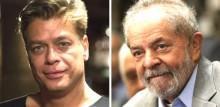 Lula vai a festa organizada por ator Fábio Assunção