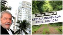 O peixe morre pela boca: Lula admite propriedade de tríplex e sítio (veja os vídeos)