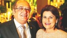 Escândalo: Dona Guiomar, esposa de Gilmar Mendes, é advogada de Jacob (veja farta documentação)