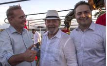 Renan troca afagos com Lula e deve ser o vice na chapa do PT