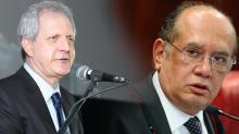 Augusto Nunes diz que Gilmar Mendes é um mero 'advogado de defesa'. Vai dar processo? (veja o vídeo)