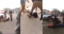 Vídeo flagra a ação da PM em confronto com populares (veja o vídeo)