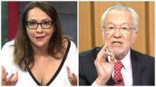 Rusgas na Rede Globo: Alexandre Garcia desmoraliza Maria Beltrão no Twitter